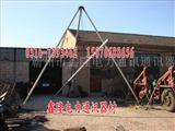 立杆工具 铝合金立杆机 三角式铝拔杆