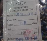 可调电阻 立式蓝白 RM063-1M 1K 10K 100K