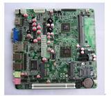350高清3D游戏主板双PCIE插槽全固态电容工控主板
