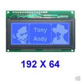 带中文字库19264ZA图形点阵液晶屏,LCD,LCM模块