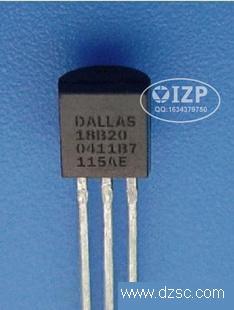 DS18B20+   DALLAS原装单总线数字温度传感器