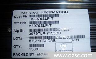 电机驱动器A3979/A3979SLP-T原装特价