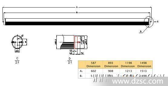 led日光灯 t管 1200mm 3528灯珠smd贴片; 【已过期】 t8灯管led/900
