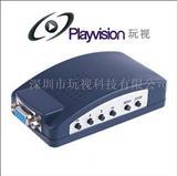 VGA转AV转换器