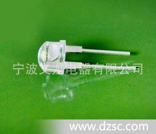 LED手电筒专用8mm草帽白光灯珠