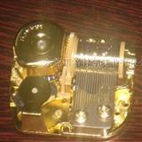 镀金音乐机芯,音乐铃