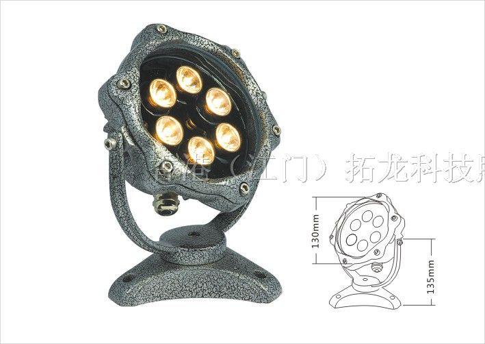 led投光灯十大品牌_供应6*1w led投光灯