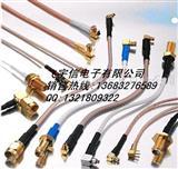 车载射频连接线.MMCX BNC RG174线.SMA内螺公针