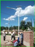 太阳能LED路灯安装维修