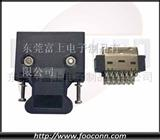 SCSI 20芯插头,3M MDR伺服连接器