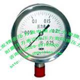 黄石不锈钢膜盒压力表价格/隔膜耐震压力表应用