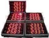 大屏幕多路温度显示器带485/232通讯