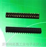 单排母PCB插座头,价格优势厂家大量现货批发单排母连接器