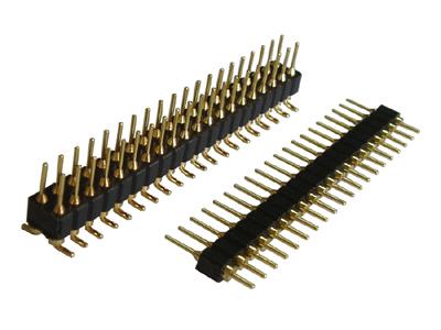 圆pin排针价格,排针连接器应用于pcb电路板